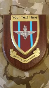 Parachute Regiment Personalised Military Wall Plaque